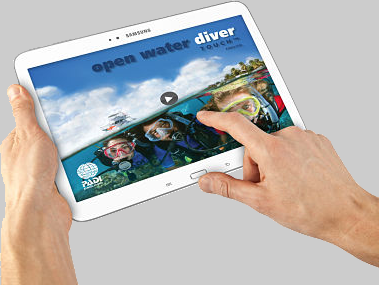 PADI Open Water Touch App